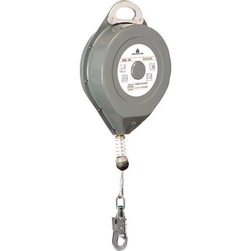 Protetor 25 m cabo zincado ø 4 mm + 1 conector am016 com tornel e indicador de queda