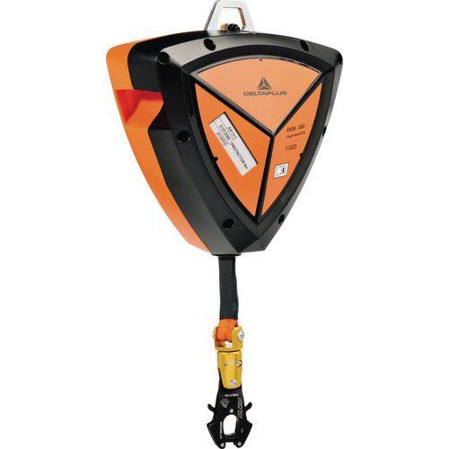 Protetor 6 m abs correia 25 mm de largo + 1 conector am021 com tornel e indicador de queda