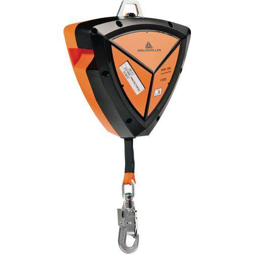 Protetor 8 m abs correia 25 mm de largo + 1 conector am016 com tornel e indicador de queda