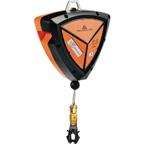 Protetor 6 m abs cabo zincado ø 4 mm + 1 conector am020 com tornel e indicador de queda