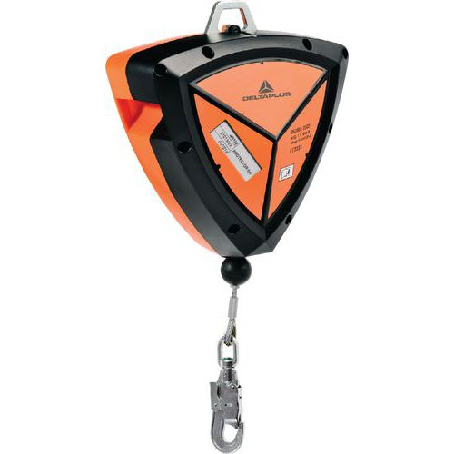 Protetor 10 m abs cabo zincado ø 4 mm + 1 conector am016 com tornel e indicador de queda