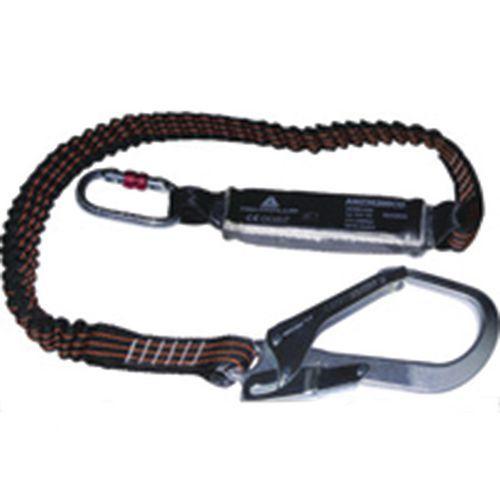 Anti-queda absorvedor de energia corda dupla 1,5 m + 3 am002