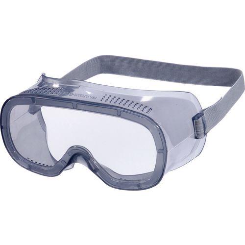 Óculos panorâmicos policarbonato incolor - ventilação direta