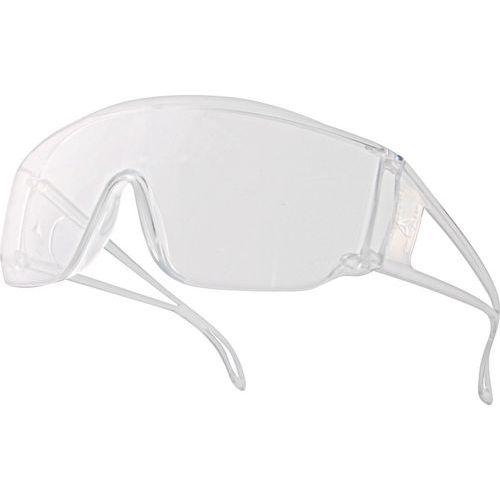 Óculos visitantes monobloco policarbonato incolor