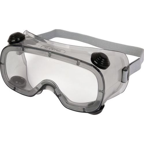 Óculos panorâmicos policarbonato incolor - ventilação indireta