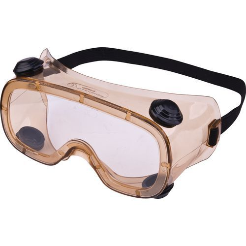 Óculos panorâmicos acetato incolor - ventilação indireta