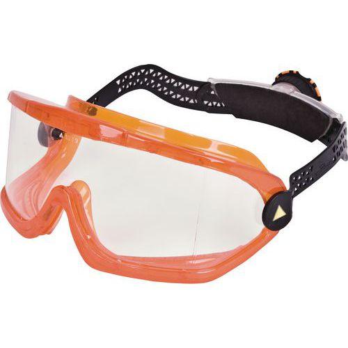Óculos panorâmicos policarbonato incolor - sistema rotor®