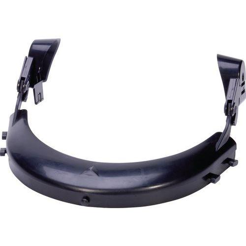 Suporte de viseira para capacete de estaleiro quartz / zircon / baseball diamond