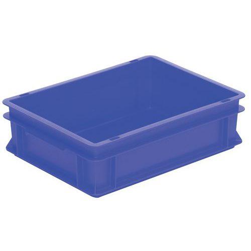 Caixa empilhável azul de norma europeia RAKO – 10 a 60L