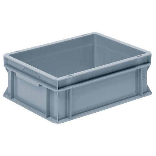 Caixa empilhável cinzenta de norma europeia RAKO – 10 a 26L