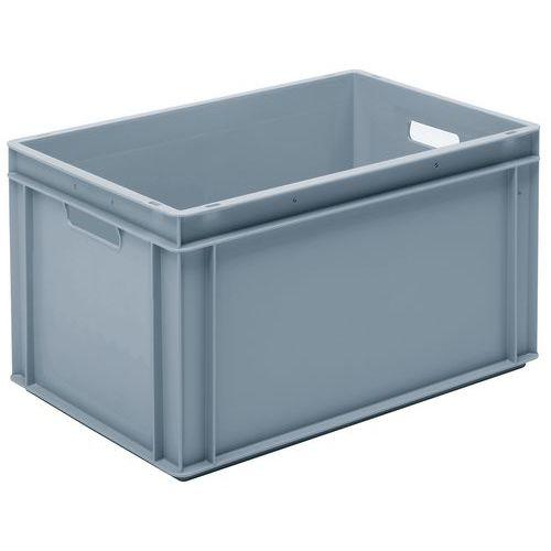 Caixa empilhável cinzenta de norma europeia RAKO – 60L