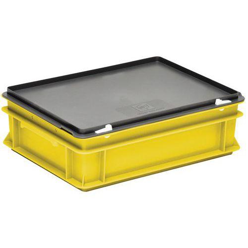 Caixas amarelas com tampa RAKO – 400 x 300mm – 10 a 40L
