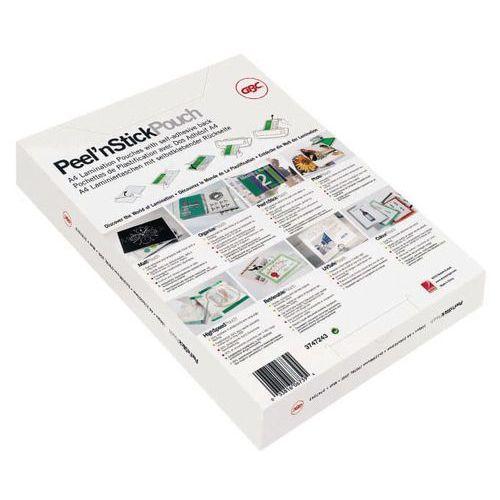 Bolsa de plastificação com costas adesivas - GBC