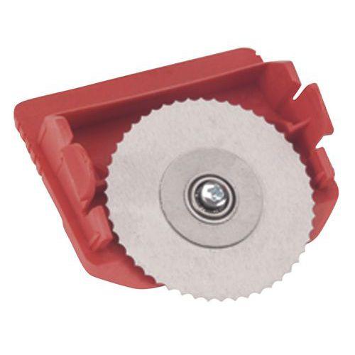 Cassete e lâmina para carro de corte horizontal