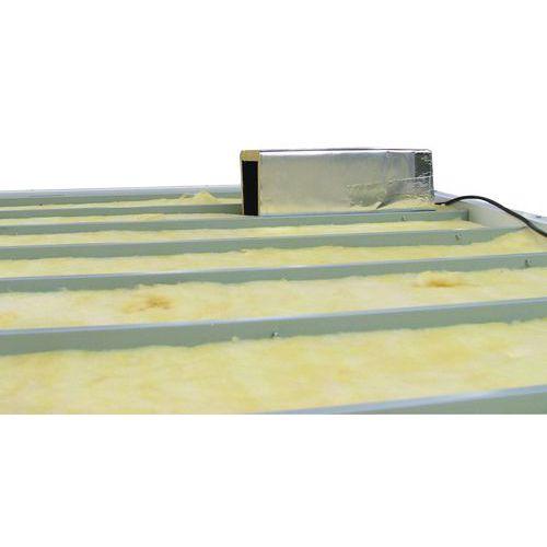 Equipamento elétrico e outros acessórios para cabinas de oficina paletizáveis - Isolamento lã mineral