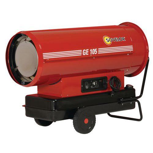 Aquecimento a ar impulsionado - A combustível - Móvel - Modelo standard