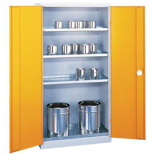 Armário de proteção - Capacidade de armazenamento 300 L