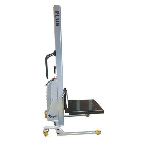 Empilhador semielétrico Freedom Plus ergonómico – Capacidade de carga 350kg
