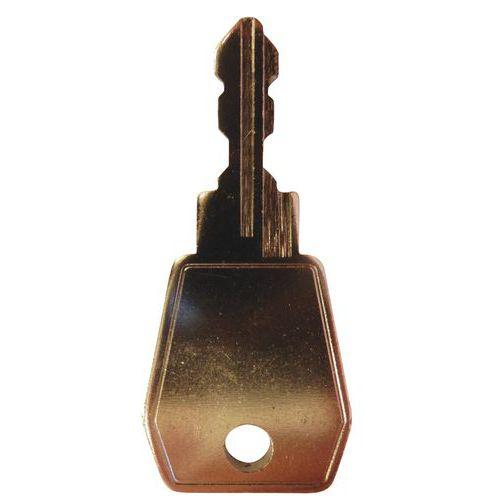 Chave de descodificação para fechadura com código