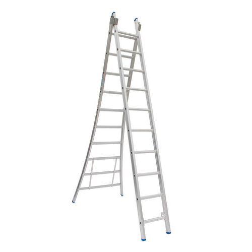 Escada transformável de 2 planos