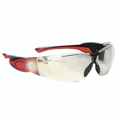 Óculos de proteção STEALTH 8000 com LED