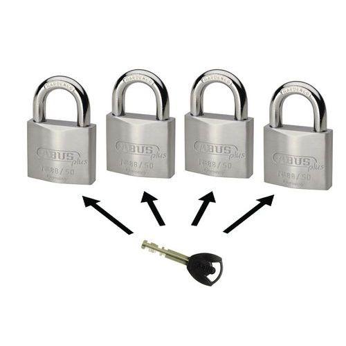 Cadeado Abus Plus série 88 - Chave comum - 2 chaves