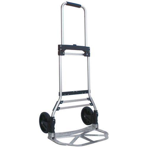 Porta-cargas dobrável em alumínio – Capacidade de 90 a 200kg – Manutan