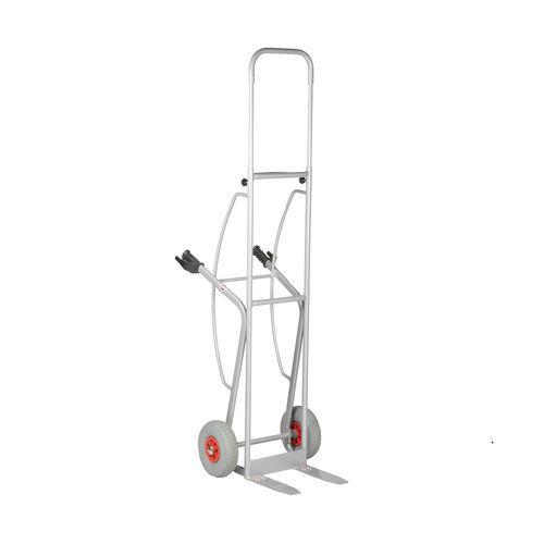 Porta-cargas em aço - Aba-garfo fixa - Capacidade de 350 kg