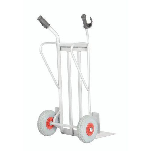 Transportador em aço – rodas antifuros – aba fixa – capacidade de 350 kg