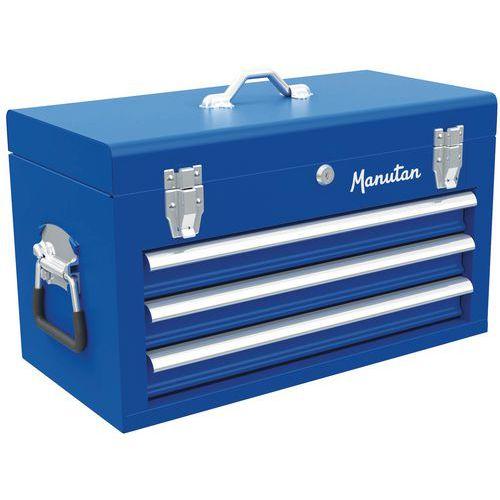 Caixa de ferramentas 3 gavetas - Manutan