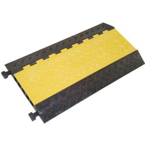 Protetor de cabos de 5 canais - 10 e 18 t - Manutan