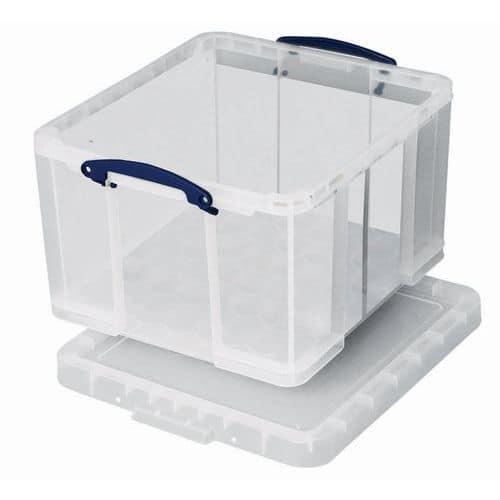 Caixa de arrumação – 520mm de comprimento – modelo translúcido