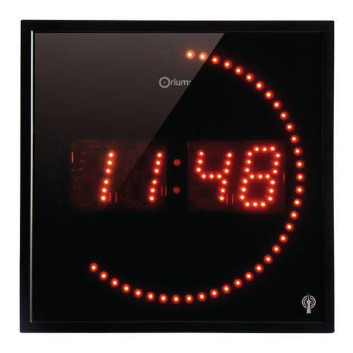 Relógio com LED controlado por rádio – Orium