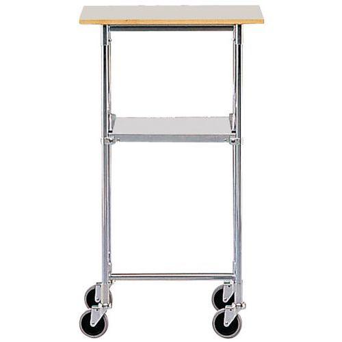 Mesa móvel - 2 plataformas - Capacidade de 50 kg