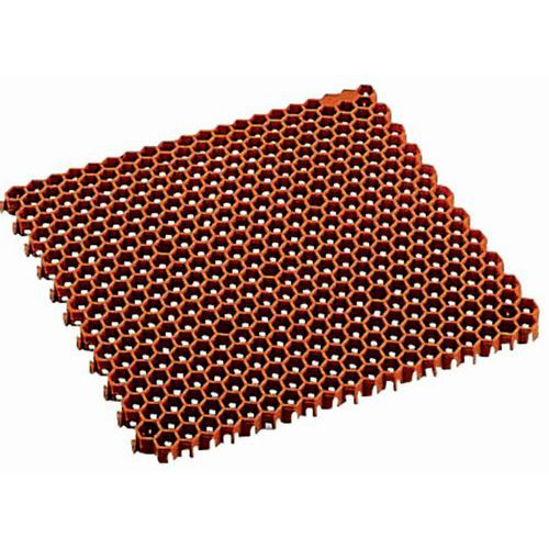 Pisos gradeados tipo ninho de abelha - Em placas