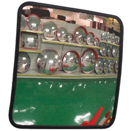 Espelho de segurança retangular - Manutan