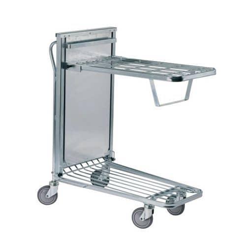 Carro ergonómico em fio de aço de nível constante – Capacidade de carga de 300kg