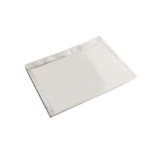 Envelope porta-documentos – Papel kraft branco – Sem impressão