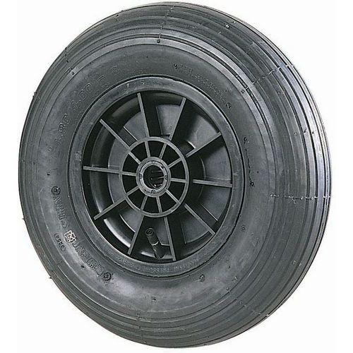 Roda ranhurada com cubo liso para transportador – capacidade de 75 a 250kg