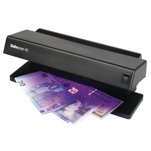 Detetor de notas falsas com lâmpada UV Safescan 45