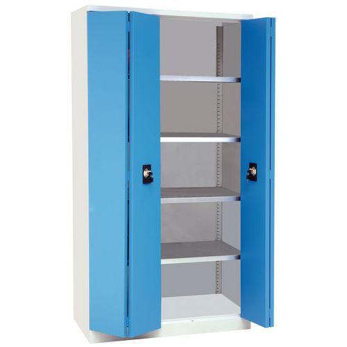 Armário com portas rebatíveis - Alto - Manutan