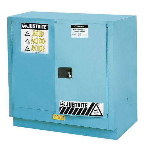Armário de segurança para produtos corrosivos - Capacidade de armazenamento 83 L