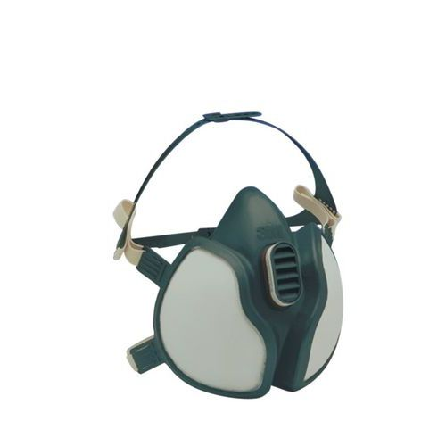 Semimáscara respiratória descartável da série 4000