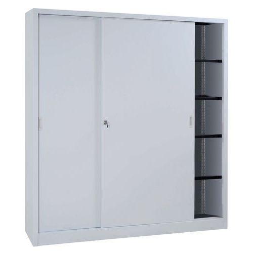 Armário em kit com portas corrediças - Alto - Largura 180 cm