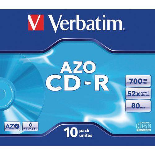 CD-R 52X AZO Crystal Verbatim