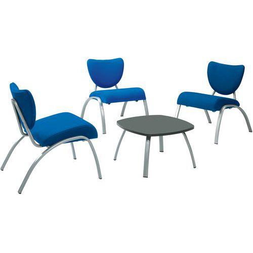 Pack Smile 3 cadeiras + 1 mesa