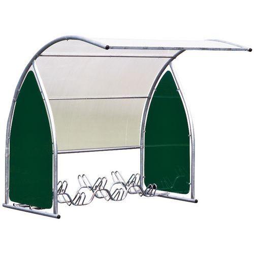 Abrigo para velocípedes arredondado - Módulo de partida - Sem suporte para velocípedes