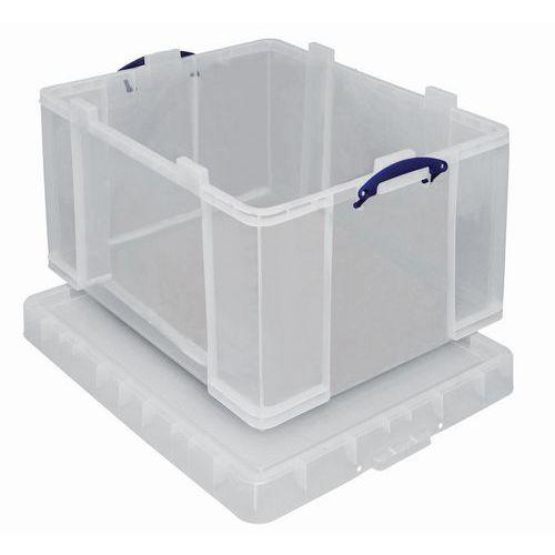 Caixa de arrumação - Comprimento 810 mm - Translúcido