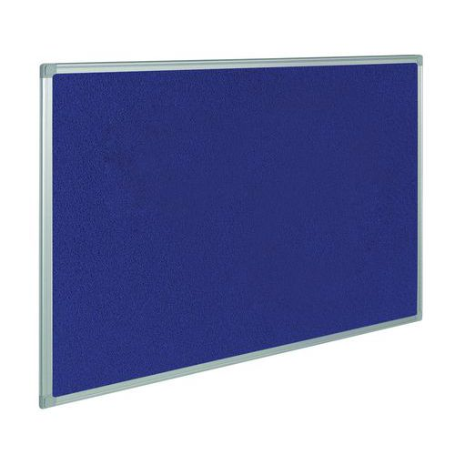 Painel de exposição têxtil - Azul