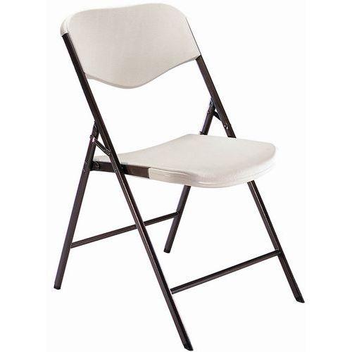 Cadeira dobrável em polipropileno